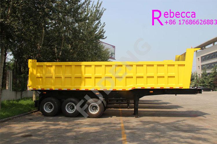 dump truck trailer for sale rear end tipper semi trailer dumper trailer