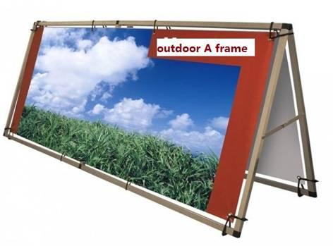 Outdoor A Frame