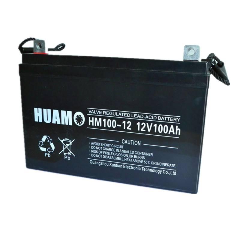 Lead acid battery 12v 100ah Rechargeable Maintenance Free Battery
