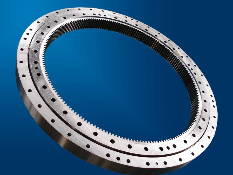 Directly sell angular contact ball bearing|double rows different diameter contact ball slewing beari