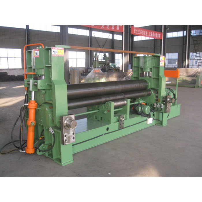 metal processed plate rolling machine