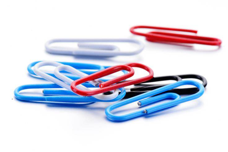 Aiven High Quality Color Paper Clips