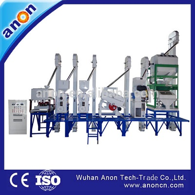 ANON 30-40tpd price mini rice mill plant