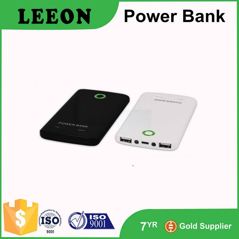 Dual USB, ultrathin, security protect power bank 5000mah