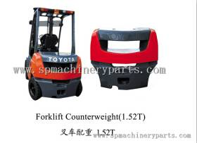 100% China Factory Price Supply Iron Cast Forklift Counter weight