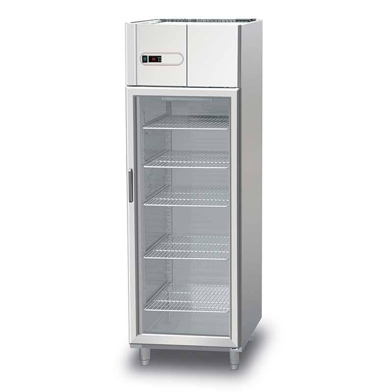 1 glass door upright chiller