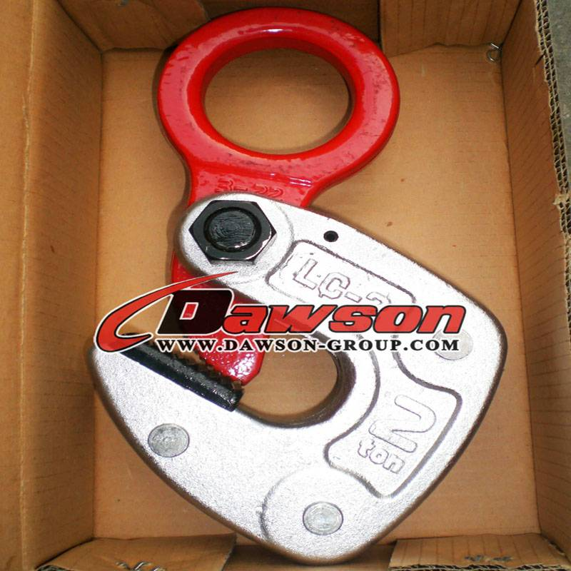Ds-LC Horizontal Plate Lifting Clamp