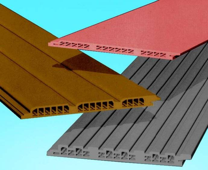BNBM HOLLOW / sripe pattern/ intensified fiber cement board/ siding/ external decoration material