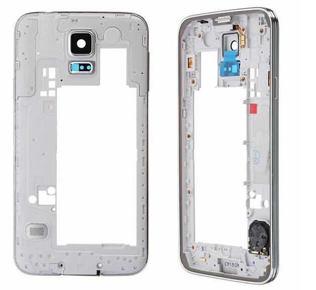 Wholesale  Galaxy S5 Middle Frame Original Middle Frame For Samsung Galaxy S5 I9600