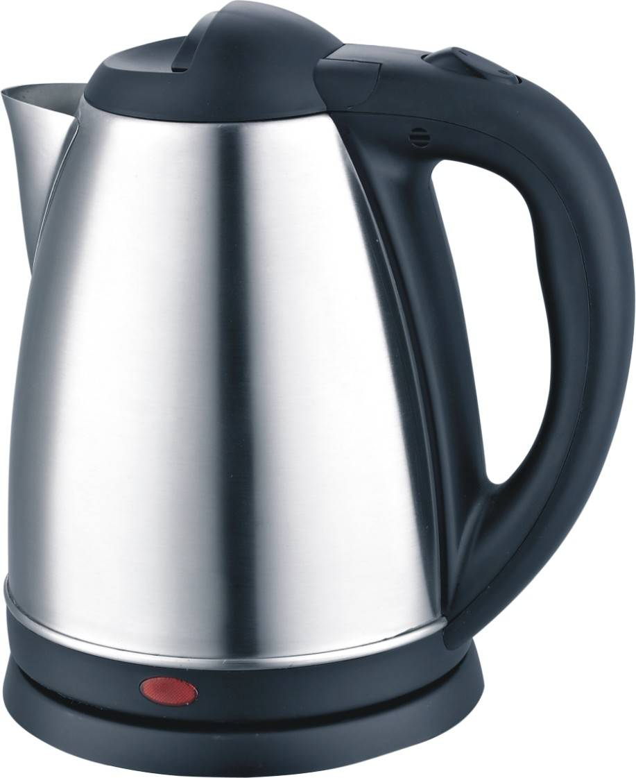 competitive stainless steel 1.7 liter portable water kettle