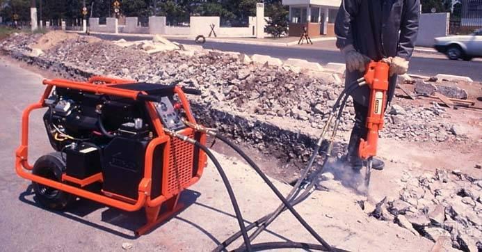 pavement hydraulic concrete breaker road breaker