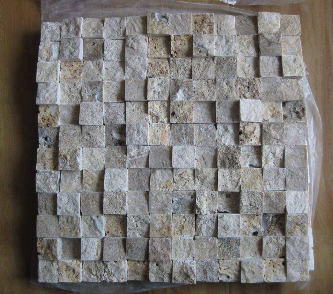 Travertine Mosaic Marble Mosaic Splitface Mosaic Tiles Slabs Stone Liners Borders
