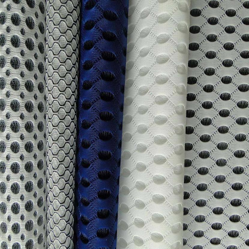 100% polyester 3D airmesh fabric