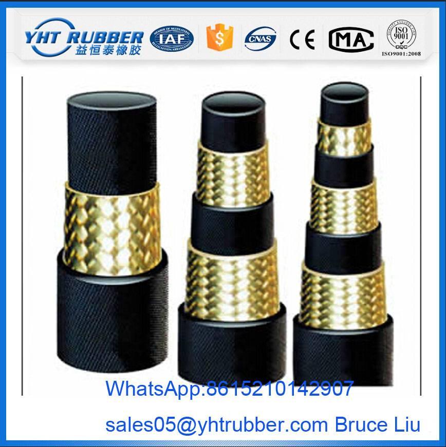 Medium Pressure Wire Braid Hydraulic Hose SAE 100R1AT
