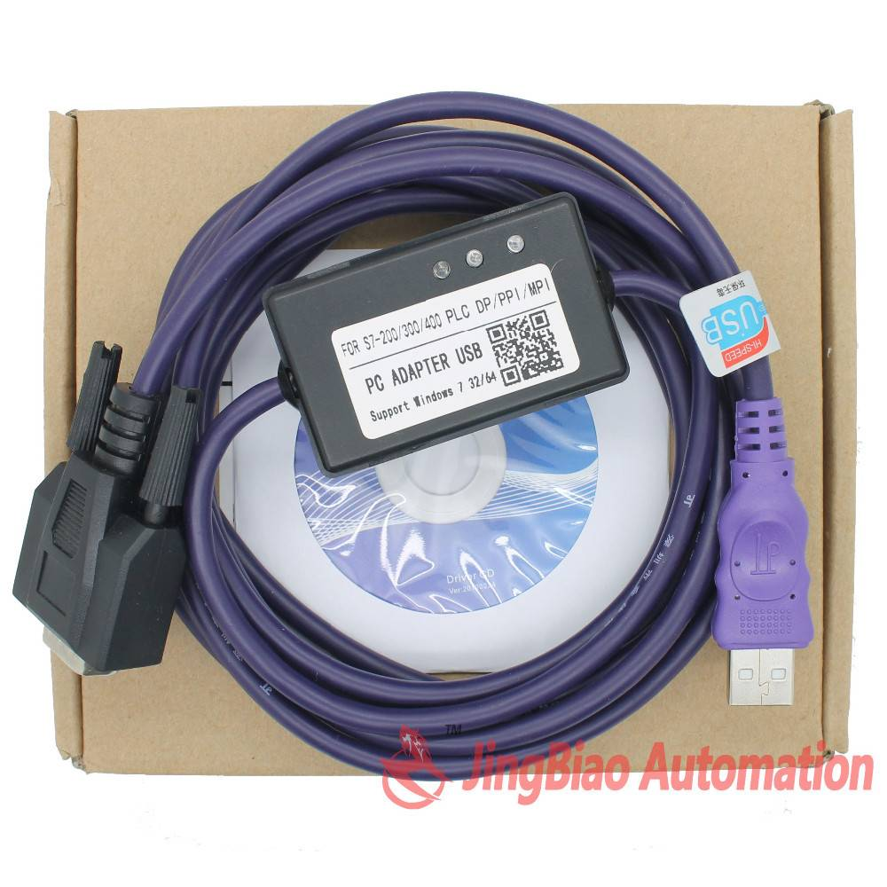 PC Adapter USB MPI for Siemens S7-200/300/400 PLC DP/PPI/MPI/Profibus win7 64bit