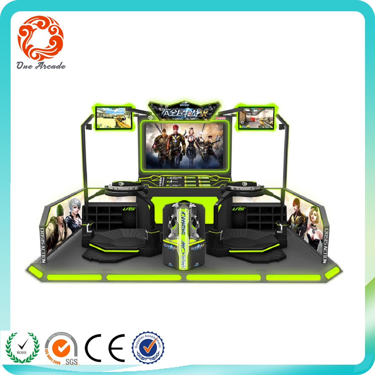 funny arcade 5D 7D 9D VR Omni Treadmill/virtuix omni game machine