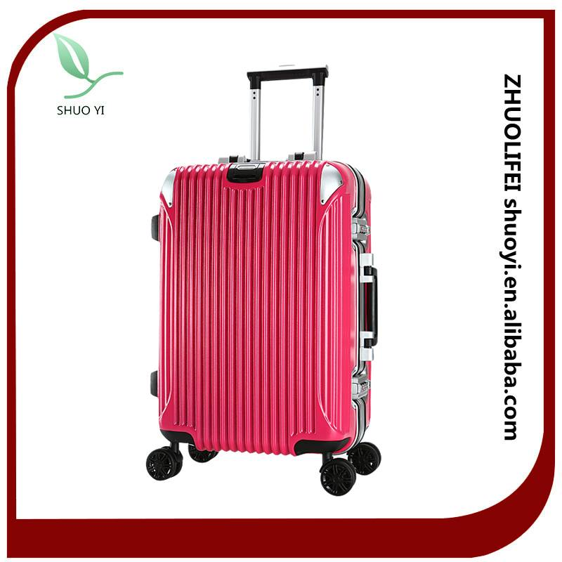 New design TSA lock fashion luggage