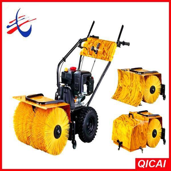 3 in 1 6.5hp gas snow sweeper,sweeping machine gardening tools