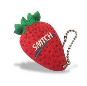 PVC USB flash drive strawberry design