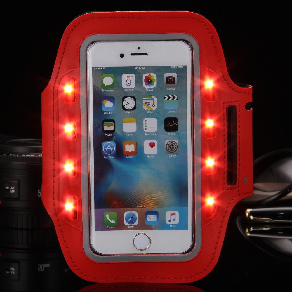 LED Sport Armband Mobile Phone Custom Armband Holder for Running