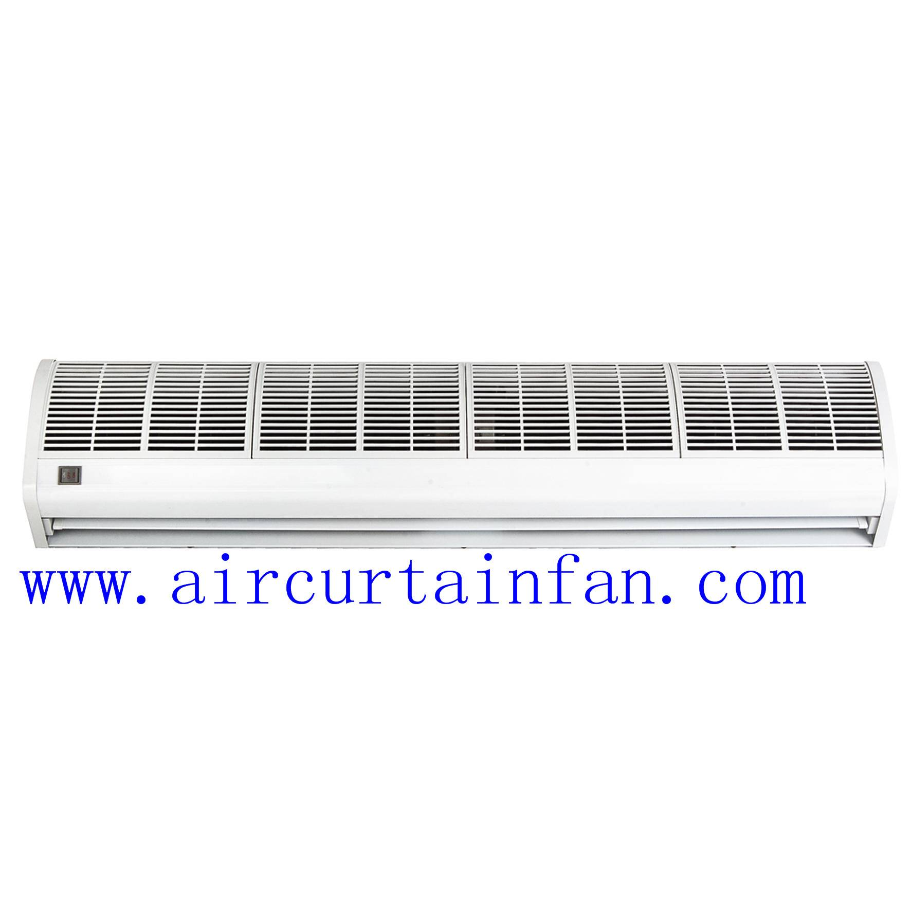 900-1500mm button control cross-flow ambient air curtain