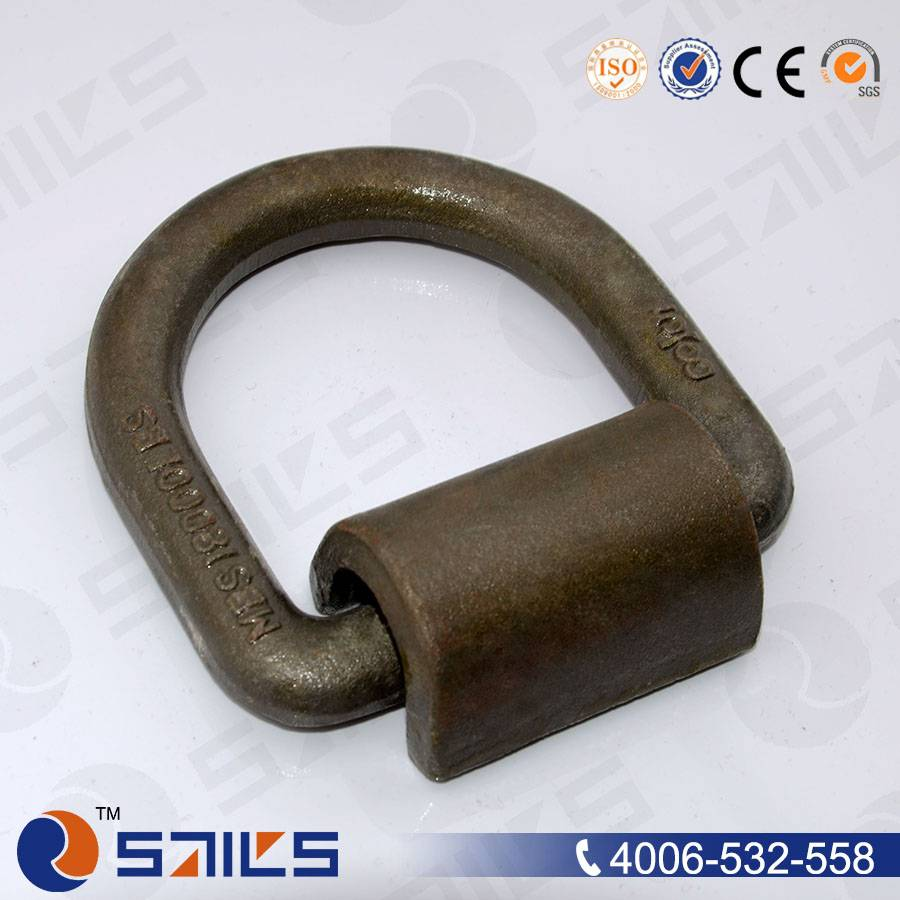 forged welded metal d ring