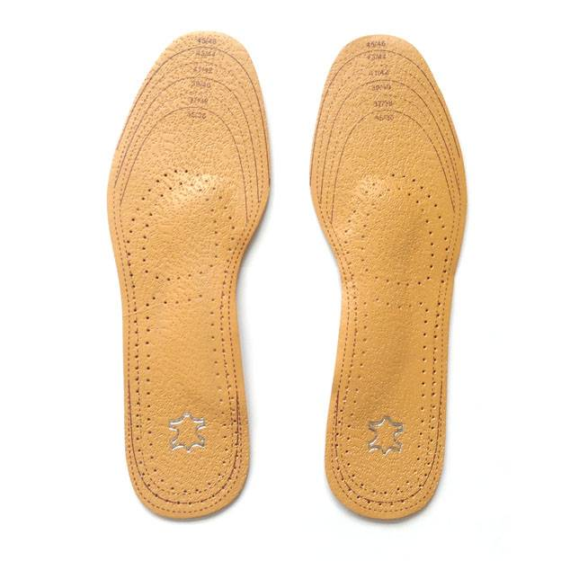 Yellow Leather Full Insole