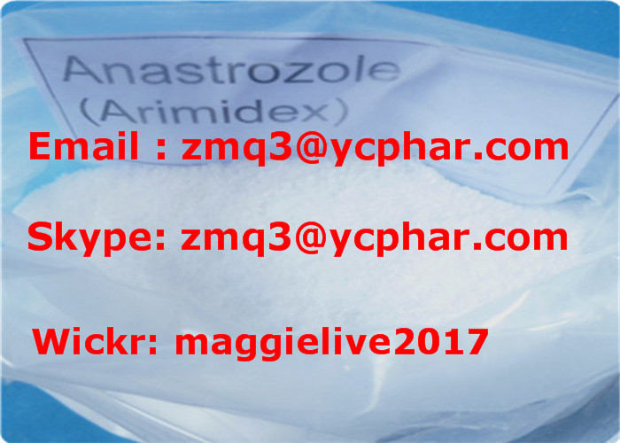 Oral & Injectable Anabolic Steroid Hormones Anastrozole Arimidex For Bodybuilding Supplement