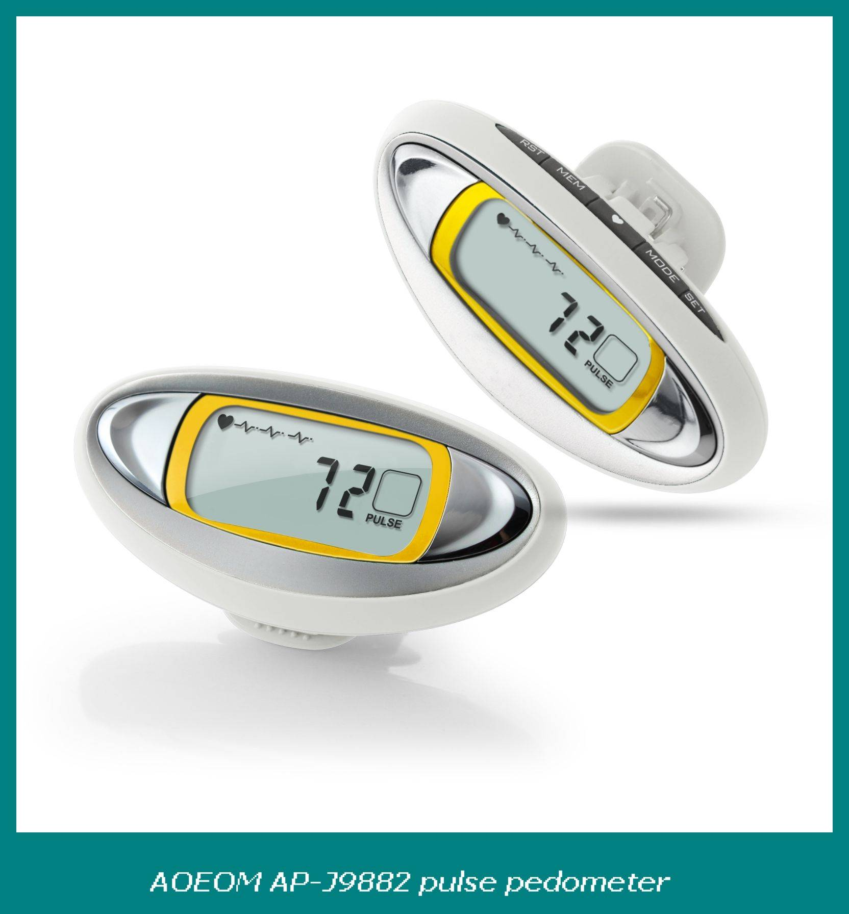 2015 Best seller thumb heartrate new pedometer