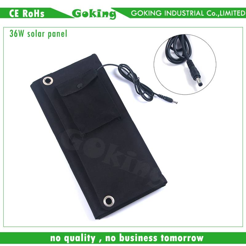 Foldable solar panel, charger for mobile phone and laptop
