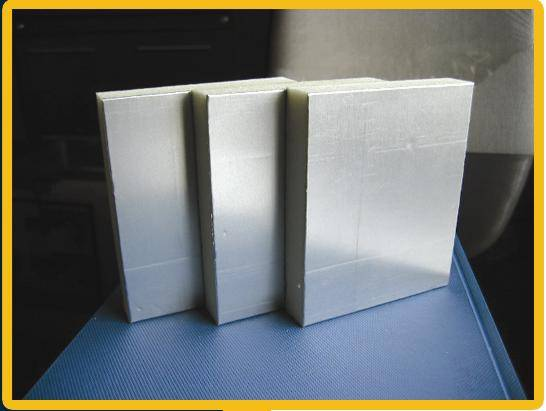 Air Duct Pre Insulated Aluminium Composite PU (Polyurethane) Panel (SMOOTH + EMBOSSED)