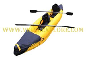 PVC Inflatable Rubber Canoe Kayak ,Kaboat