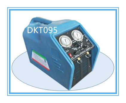 Dkt095 1/2HP Spark-Proof Reliable High Speed Refrigerant Recovery Recycling Recharging Machine