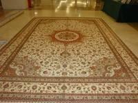 100% handmade silk carpet