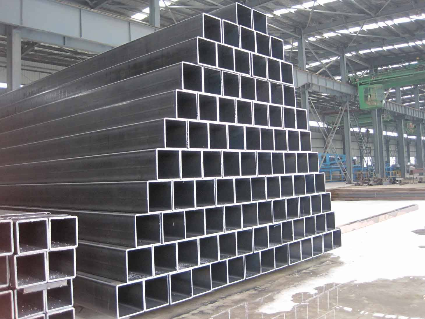 HR CR HF ERW Steel Hollow Section in China Dongpengboda