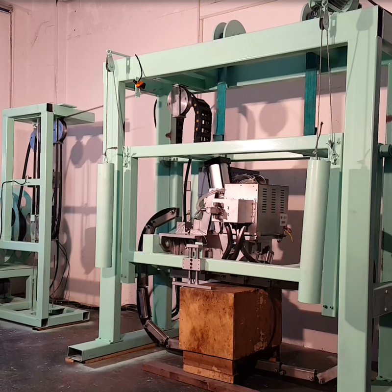 Automatic Polyester Bundling Equipment For Pallet Strapping
