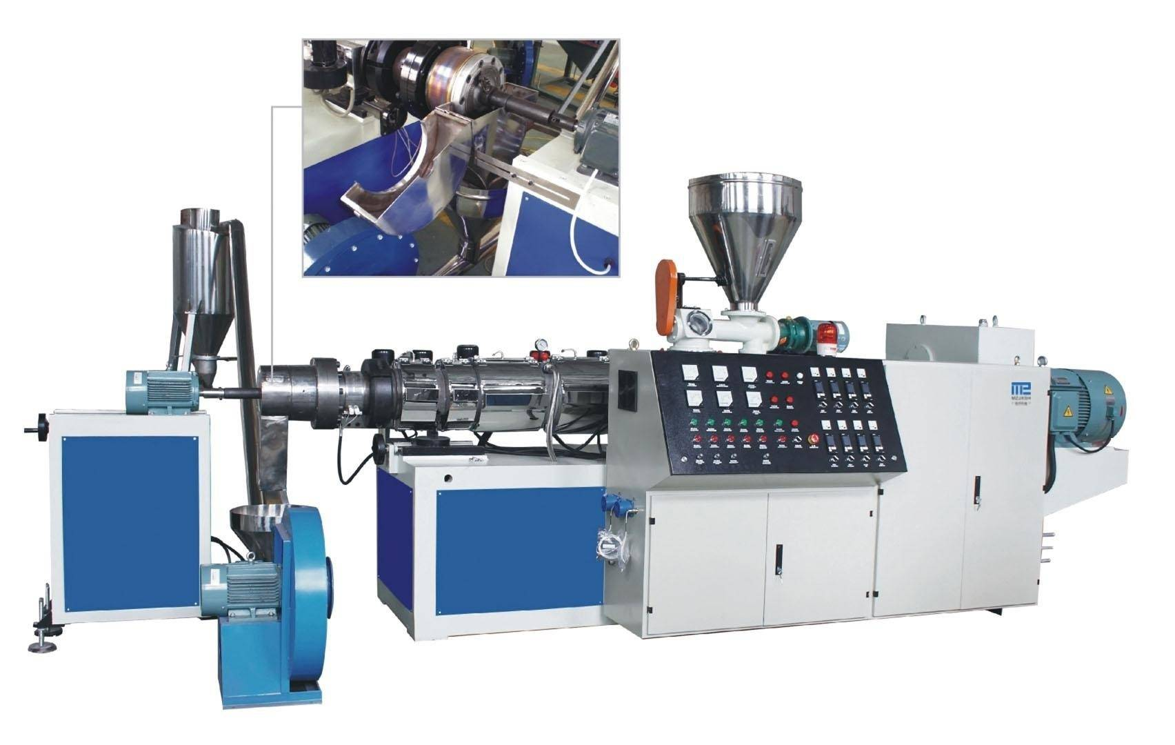 PVC Hot-Cutting Pelletizing Line    extruder manufacturer