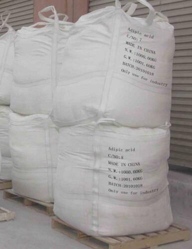Adipic acid for Industrial Grade CAS No. 124-04-9