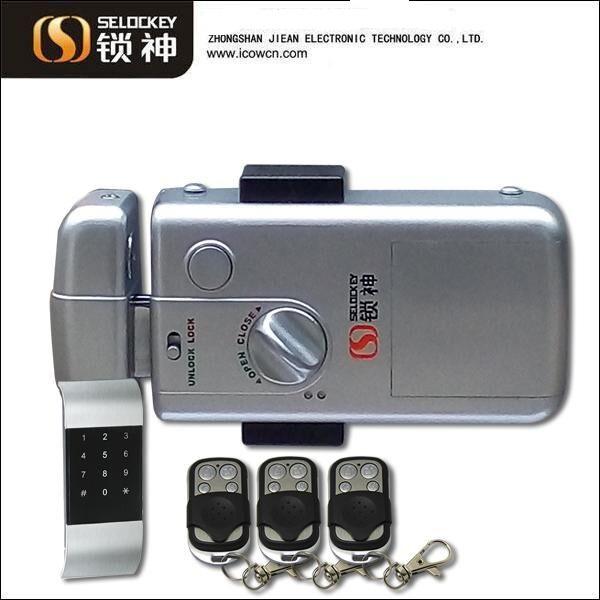 Factory Supply _TM card and Keypad Door Lock, wireless lock, (LY15CR2-11BM)