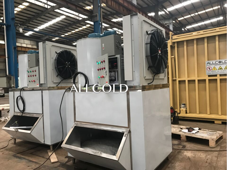 Ice Plant/Vegetable/Seafood Store Flake Ice Machine Ice Making Machine Daily For Cooling