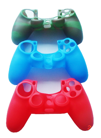 silicone gaming Grip Protective Cover or skin for PS4 controller