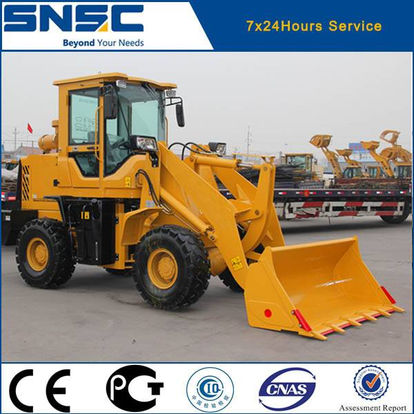 China 2 ton mini loader price for sale