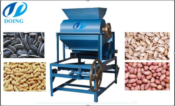 Cooking oil processing machine-oil seed huasking machine for sale