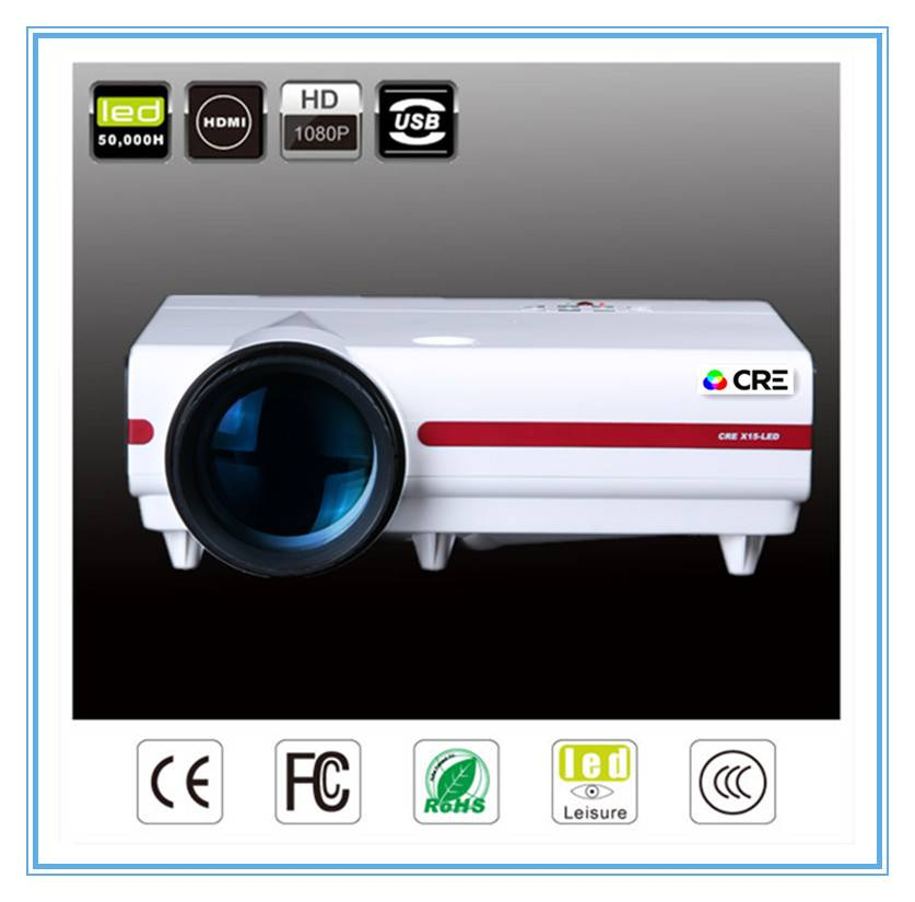 LED projector 1080p video projector/ CRE X1500NX