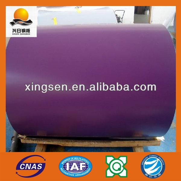 building material china supplier zinc ppgi galvanized steel coil