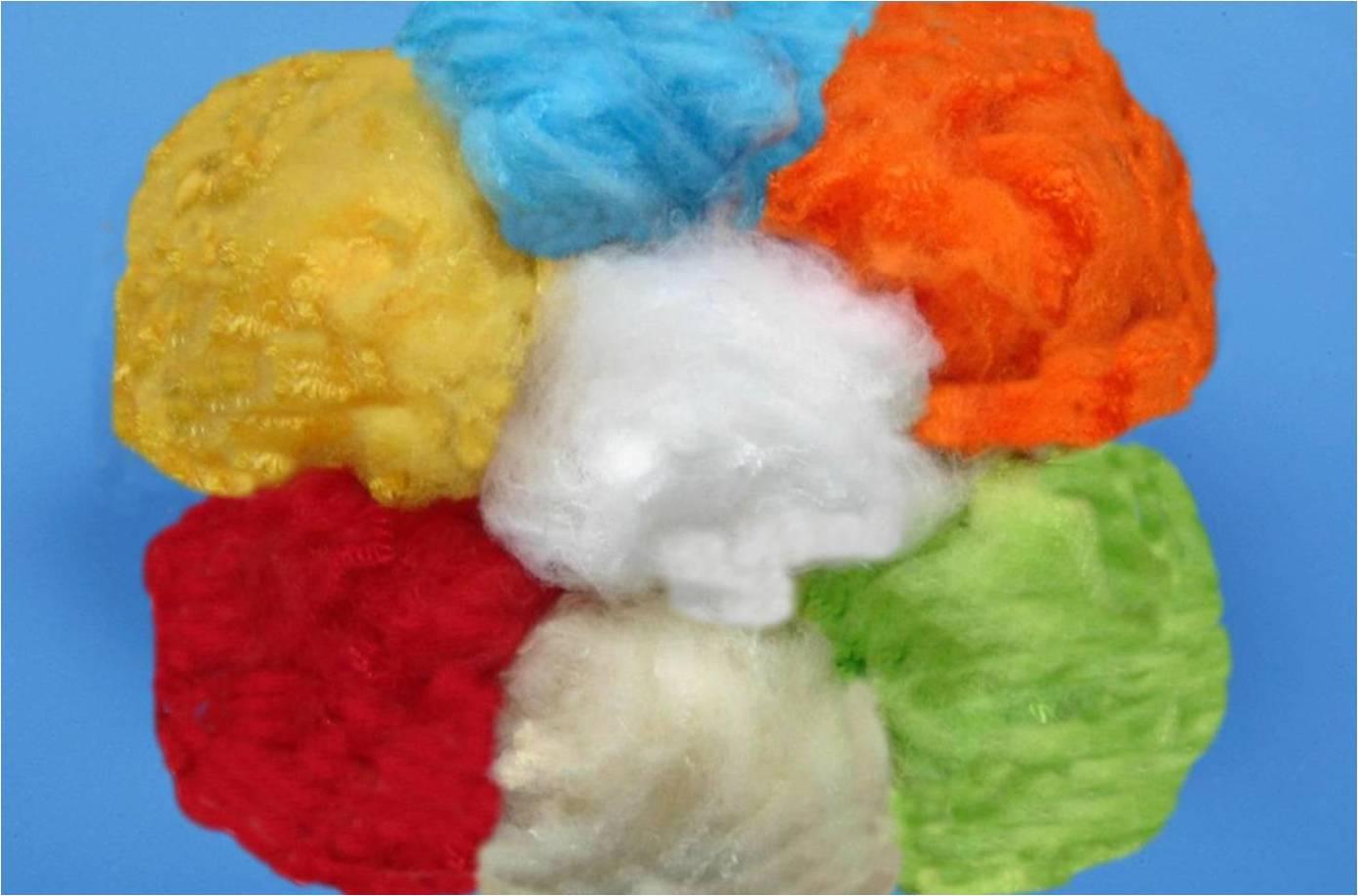 Color polyester staple fiber (PSF)