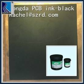 Matte black solder mask IC board H8100