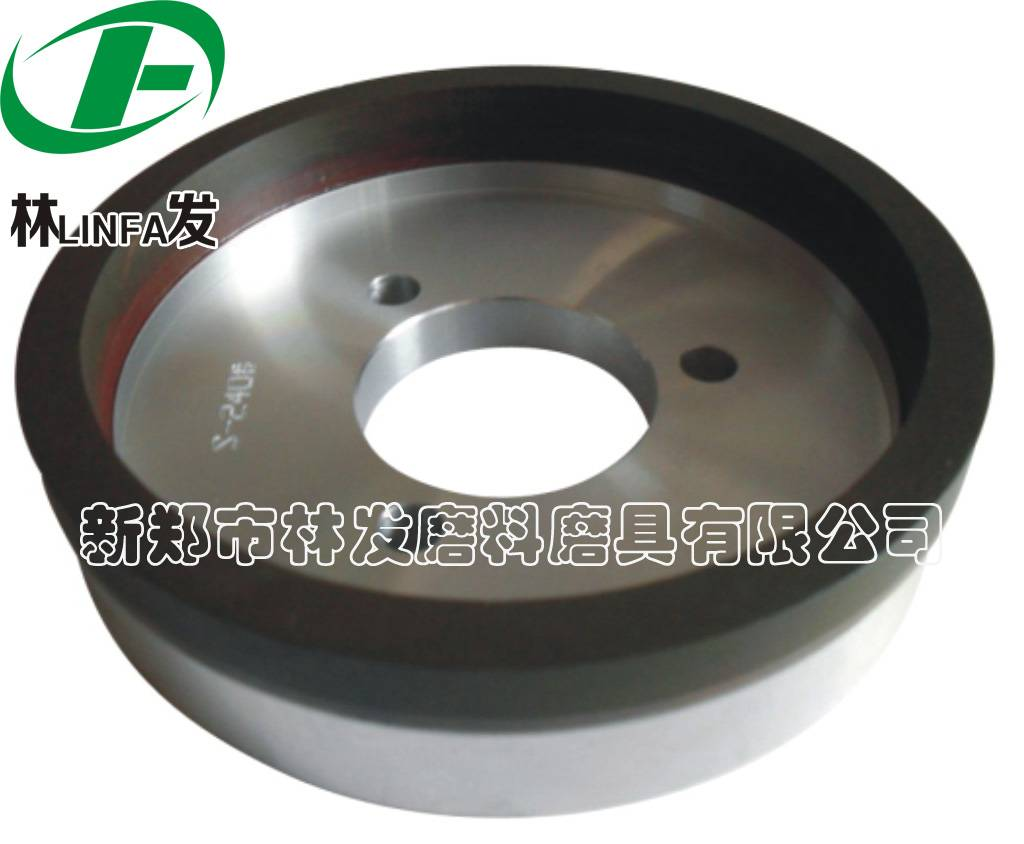 Diamond cup polishing wheel for stainless steel