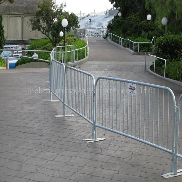 Festival Crowd Control Barrier Removable Pool Mesh Fencing