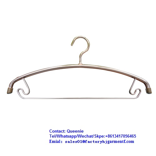 Full Anti-oxidant Light Weight Durable Heavy Duty Metal Aluminum Clothes Hangers Space Saving